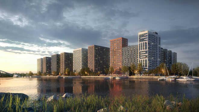 ЖК «Западный порт» Квартиры с видом на реку